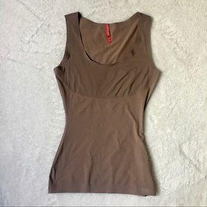 SPANX LIKE NEW nude color tank top shape wear